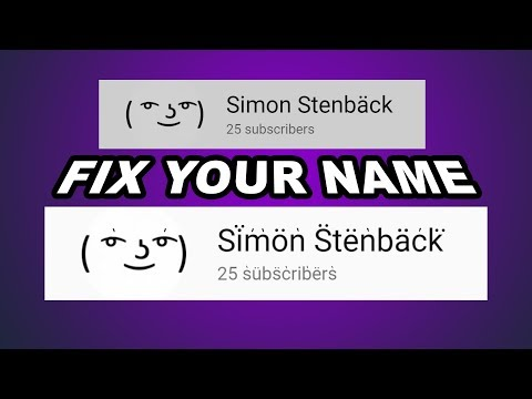 FIX YOUR NAMES (YIAY #404)