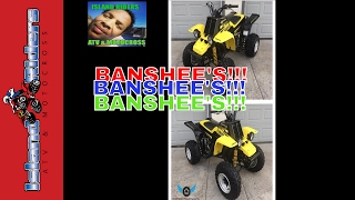 8. BEST BANSHEE FOR SALE , YAMAHA YFZ 350 BANSHEE ALL YEARS. WHAT YEAR IS THE BEST BANSHEE?