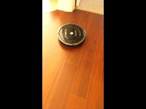 Roomba 880 abnormal cirle pattern