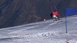Super-G training, summercamp Chile 2017