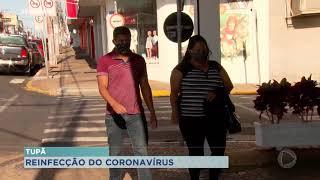 Tupã confirma primeiro caso de reinfecção pela Covid-19