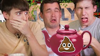 Video Trying the World's Strangest Teas!! (Yak Milk vs Larvae Poopㅠ) MP3, 3GP, MP4, WEBM, AVI, FLV Januari 2019