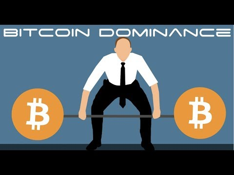 Cryptocurrency Market Sees  Bitcoin Dominance Over Altcoins Rise