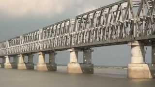 Patna (Bihar) India  City new picture : RAIL cum ROAD BRIDGE AT MUNGER, PATNA, BIHAR, INDIA
