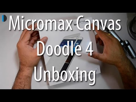 Micromax Canvas Doodle 4 Q391 Unboxing And Hands On Review