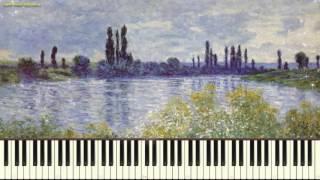 Арабеска №2 - К. Дебюсси (Arabesque_No.2_Debussy) (Пример игры на пианино) (piano cover)