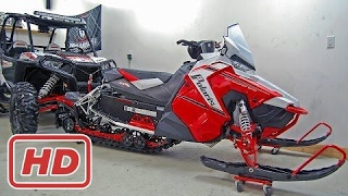 8. [ Mr Jake ] 2017 Polaris Switchback 800 - 60th Anniversary Edition - 1st Start + Walk Around - AXYS