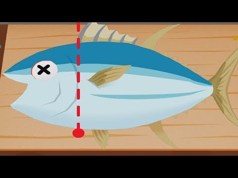 TO-FU Oh! SUSHI BIG TUNA Cooking Game | Fun Baby Kitchen App For Kids