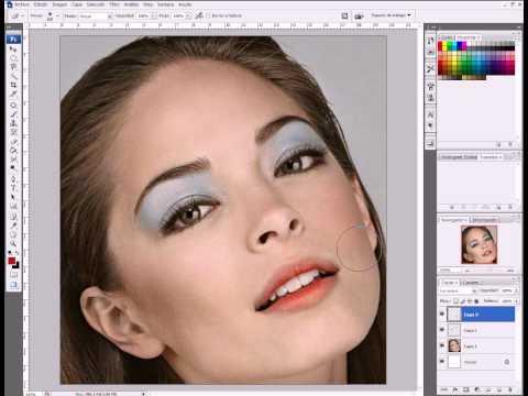 Maquillar un rostro con Photoshop