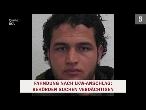 Terror-Anschlag in Berlin: Weihnachtsmarktanschlag von Berlin - BKA fahndet öffentlich nach Islamist Anis Amri