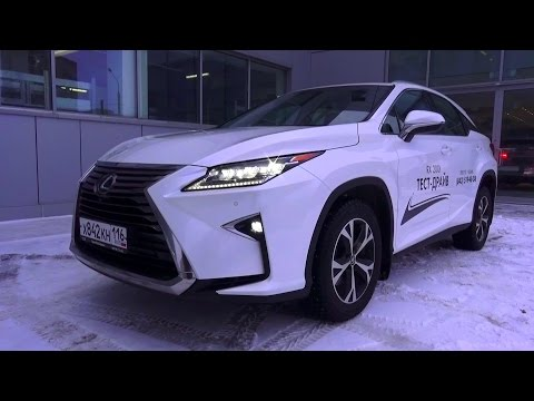 2016 Lexus RX 200t AWD Luxury. Start Up, Engine, and In Depth Tour.