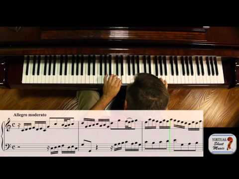 How to approach Bach's Two Part Inventions - Part 1
