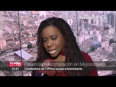 Periodista Sofía Carrillo denunció discriminación en Migraciones