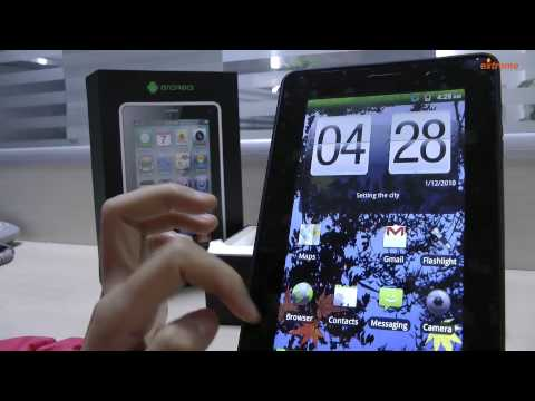 WG1107 Android 2.3.4 Tablet WCDMA Phone - DealExtreme