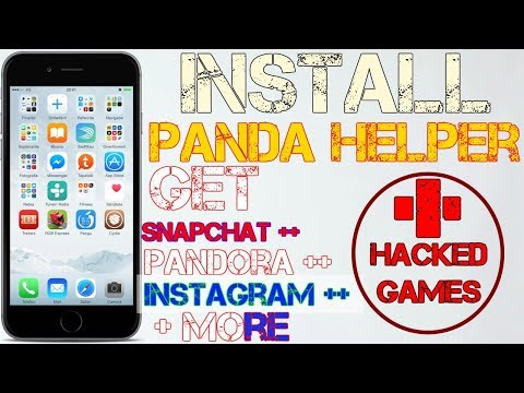 iOS 10 -11.1.2: Install (PANDA HELPER) Get Snapchat ++, Spotify ++ & More| All ++ Apps & Hacked Apps