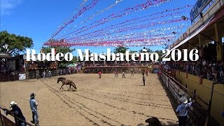 Masbate Philippines  City pictures : Rodeo Masbateño 2016 - Bareback Bronco Riding, Masbate Philippines