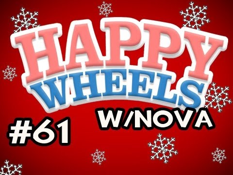 Happy Wheels HOLIDAY MARATHON w/Nova Ep.61 - Wrecking Ball Shows NO MERCY Video