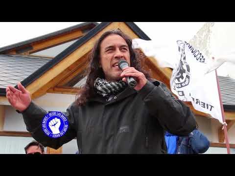Discursos en la Jornada de Paro y Movilizacion de privados y estatales en Rio Grande