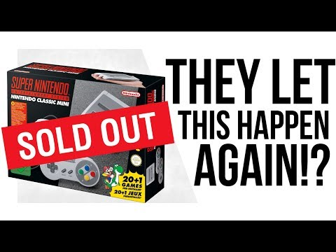 Why Nintendo's SNES Classic SOLD OUT in MINUTES!