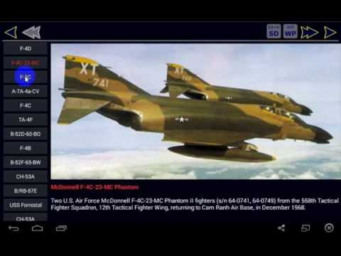 Video of Vietnam War Aircraft Free