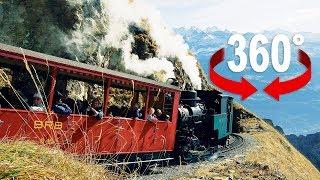 Es stampft und dampft, es quietscht und qualmt: Steigen Sie in die Brienz Rothorn Bahn und tuckern Sie mit der Dampflok auf den Gipfel. ---------------------------------------------------------© 2017 BLICK - http://www.blick.ch
