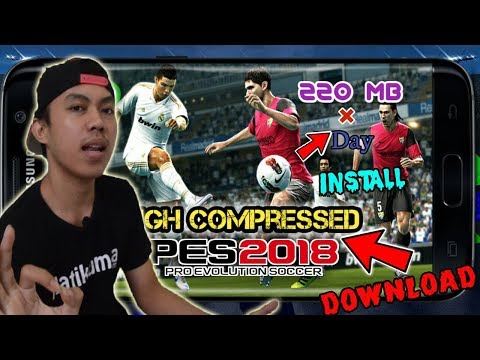Cara Instal PES 2018 V2.2.0 Di Android FULL Data + APK