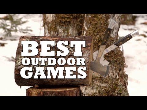 The 5 BEST Outdoor Games