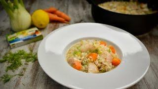 Leve a cozer o red fish durante 8 minutos com dois cubos de Caldo de Peixe Knorr