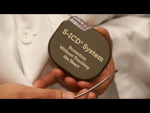 New Less Invasive Defibrillator Implant