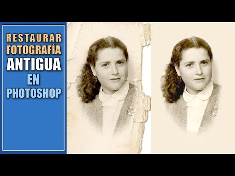 Restaurar Una Fotografía Antigua En Photoshop