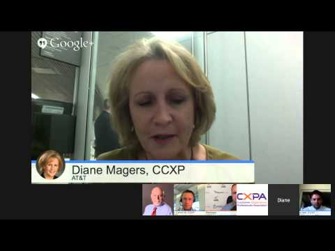 Google+ Hangout with the CX Experts: Customer-Centirc Culture