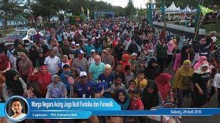 Warga Negara Asing Juga Ikuti Funbike dan Funwalk di Sabang