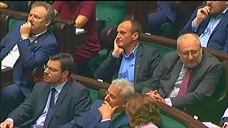 """Niesiołowski pyta: """"to jakie mamy małpy w Sejmie?"""" :D"""