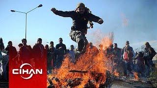 Nevruz ateşi İstanbul'da yandı