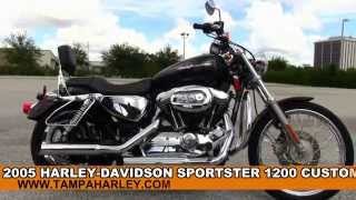 1. 2005 Harley Davidson Sportster 1200 Custom for sale review specs