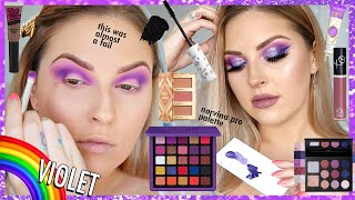 Violet BOMB A$$ Makeup 🧞♀️🌈 Rainbow Series 🗯️ CCGRWM by Shaaanxo