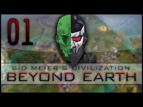 Civilization: Beyond Earth Co-op LP – MadDjinn and Docm77 take on the Aliens – EP01
