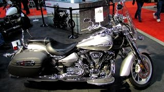 6. 2014 Yamaha Stratoliner S Walkaround - 2014 Toronto Motorcyle Show