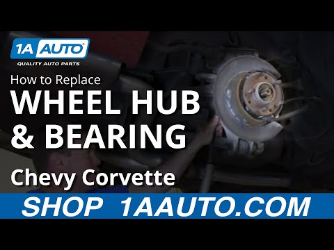 How To Install Replace Rear Wheel Bearing Hub 1984-96 Chevy Corvette