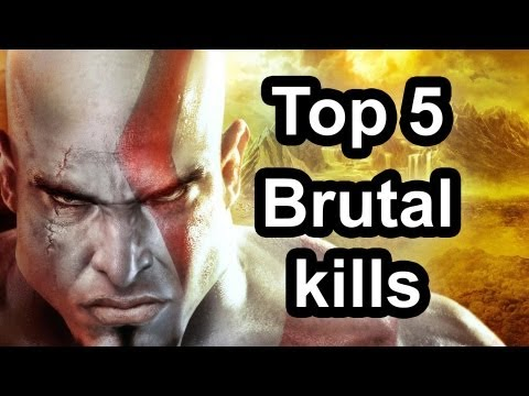god of war - le 5 top kills
