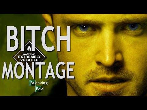 "Complete Jesse Pinkman ""BITCH"" Montage (Breaking Bad Seasons 1-5)"