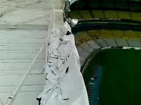 El estadio Jalisco desde arriba