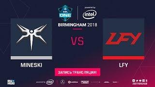 Mineski vs LFY, ESL One Birmingham, game 1 [Jam, LighTofHeaveN]