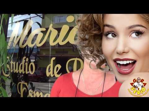 Mariah faz o convite para todos participar dos cursos de cabeleireiros , depilação e outros veja ...
