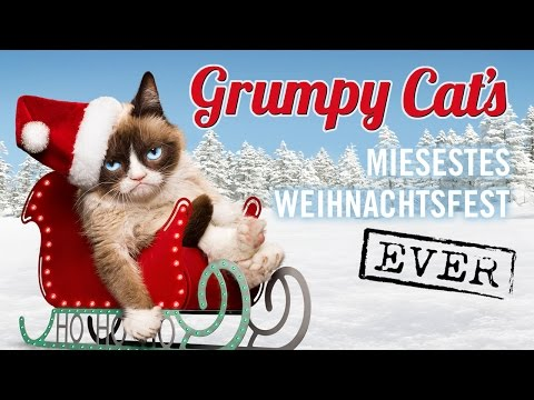 Grumpy Cat's Miesestes Weihnachtsfest Ever - Trailer [HD] Deutsch / German