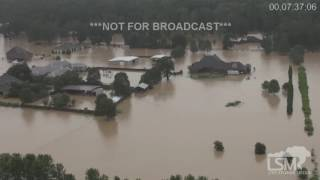 Denham Springs (LA) United States  city photos : 8-13-16 Denham Springs, LA Extreme Flooding! Chopper Footage