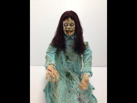 The Exorcist Sitting Regan Animated Prop – Trendy Halloween Exclusive!