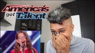 Video Dee React America Got Talent Mandy Harvey MP3, 3GP, MP4, WEBM, AVI, FLV Agustus 2018