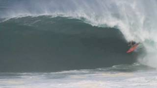 Greg Long at Puerto - Ride of the Year entry in the Billabong XXL Big Wave Awards 2012
