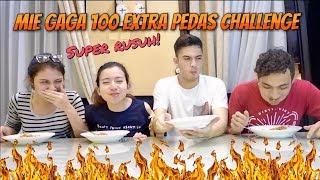 Video Mie Gaga 100 Extra Pedas Challenge with Rizky Nazar MP3, 3GP, MP4, WEBM, AVI, FLV April 2019